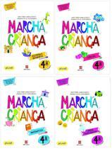 Kit Livros Escolares: Coleção. Marcha Criança - 4º Ano-Série - Scipione (Didaticos) - Grupo Somos