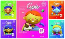 Kit Livros Escolares: Coleção. Projeto Ápis- 1º Ano-Série - Atica (Didaticos) - Grupo Somos