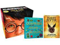 Kit Livros Harry Potter + Box Ed. Comemorativa  - 20 Anos J. K. Rowling
