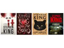 Kit Livros It: A Coisa + O Iluminado + Com  - Sangue + Doutor Sono Stephen King