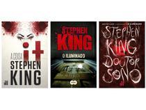 Kit Livros It: A Coisa + O Iluminado + Doutor Sono - Stephen King