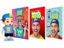 Kit Livros Lucas Neto + Boneco Luccas Neto 27cm - Rosita