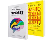 Kit Livros Midset A Nova Psicologia do Sucesso - O Poder do Hábito