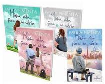 Kit Livros - Minha Vida Fora De Série 1 2 3 4 PAULA PIMENTA - Gutenberg