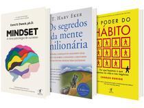 Kit Livros O Poder do Hábito + Mindset - Os Segredo da Mente Milionária