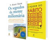 Kit Livros O Poder do Hábito + Os Segredos  - da Mente Milionária