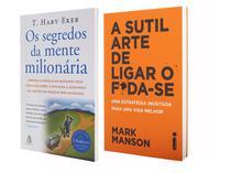Kit Livros Os Segredos da Mente  - Milionária + A Sutil Arte de Ligar o F*da-se