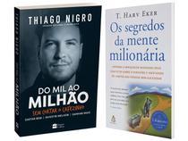 Kit Livros  - Os Segredos da Mente Milionária + Do Mil ao Milhão