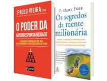 Kit Livros Os Segredos da Mente  - Milionária + O Poder da Autorresponsabilidade