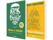 Kit Livros Pega a Visão e A Favela Venceu - Rick Chesther
