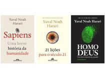 Kit Livros Sapiens + Homo Deus + 21 Lições para o  - Século 21 Yuval Noah Harari