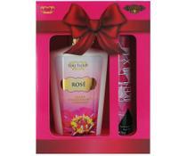 Kit loção hidratante rosé+ cuba deo parfum deluxe 35ml - Love Secret