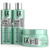 Kit Lokenzzi Cachos Hair Real 10 Effects Sh cond e Mascara -