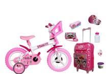 Kit Lol Surprise com Bicicleta + Mochila + 6 itens - Exp
