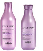 Kit Loreal Expert Liss Unlimited Shampoo e Condicionador -
