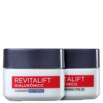 Kit LOréal Paris Revitalift Hialurônico Dia e Noite (2 Produtos) - L'Oréal Paris