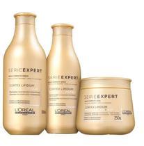 Kit Loréal Professionnel Absolut Repair Lipidium Tratamento (3 Produtos) - Loreal