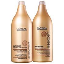 Kit Loréal Professionnel Nutrifier - Shampoo E Condicionador 1,5 L - Loreal
