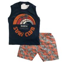 Kit lote 8 peças roupa infantil menino 4 conjuntos infantil masculino 1 ao 10 - Nacional