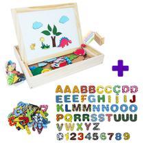 Kit Lousinha Infantil 2 Em 1 + Alfabeto Móvel Magnético 5cm - Carimbras