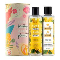 Kit Love Beauty and Planet Óleo de Coco Shampoo+Condicionador 300ml - Lata - Love Beauty Planet
