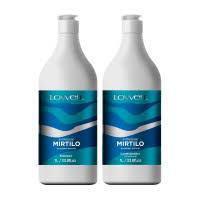Kit Lowell Extrato Mirtilo Shampoo 1L Condicionador 1L -