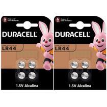 KIT LR44 A76 AG13 1,5V DURACELL / 8 Baterias -