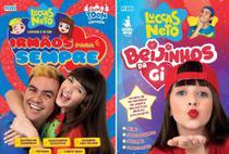 kit Luccas Neto e Gi Irmaos para sempre e beijinhos da gi - Pixel
