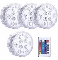 Kit Luminária LED 16 cores diferentes Para Piscina Impermeável 4pcs + Controle - Getit Well