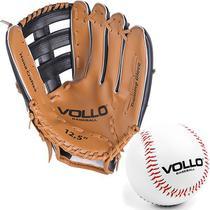 Kit Luva + Bola de Baseball VOLLO Original -
