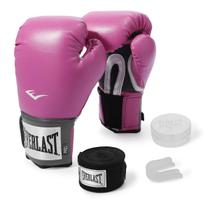 Kit Luva de Boxe Everlast Training 12 Oz + Bandagem -