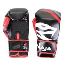 Kit Luva de Boxe/Muay Thai First 14 oz + Bandagem + Protetor Bucal - Naja
