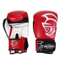 Kit Luva de Boxe/Muay Thai Pretorian Elite 12 Oz + Bandagem + Protetor Bucal -
