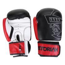 Kit Luva de Boxe/Muay Thai Pretorian First 14 Oz + Bandagem + Protetor Bucal -