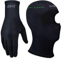 Kit Luva Thermic X11 Segunda Pele + Balaclava Toura Ninja X11 Segunda Pele -