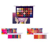 Kit Luxo 3 Paletas Playboy Madame Lua Tropicalia Hot E Color -