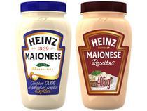 Kit Maionese Tradicional Heinz 400g + Maionese  - Tradicional Heinz Receitas 405g