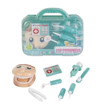 Kit Maleta Dentista Infantil Fenix Brinquedos Com Acessórios -