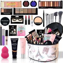 Kit Maleta Maquiagem Top Profissional Completa Bz113 - Bazar Na Web