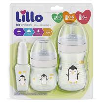 Kit Mamadeira Evolution Branco Lillo -