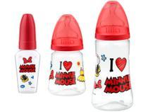 Kit Mamadeira Lillo Design Disney Lillo Baby - 3 Unidades -