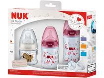 Kit Mamadeira NUK First Choice Starter - 3 Unidades -