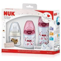 Kit Mamadeira Starter FC 90ml/150ml/300ml Girl Nuk -