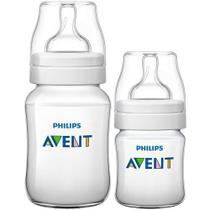 Kit Mamadeiras Classic 02 PÇS (0M a 1M+) - Philips AVENT