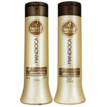 Kit Mandioca Shampoo Condicionador 300ml - Haskell -