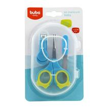 Kit Manicure Baby Azul Buba - Buba toys
