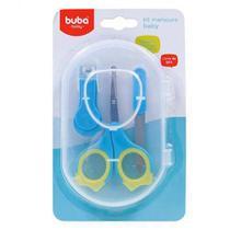 Kit Manicure Baby  Azul  BubA -
