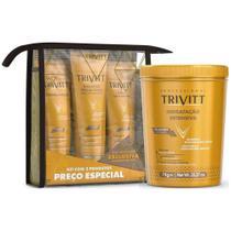 Kit Manutenção Trivitt + Máscara De Hidratação Intensiva 1kg - Itallian color - Itallian Collor
