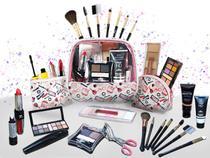 Kit Maquiagem + 3 Frasqueiras Luisance Ruby Rose + Grandes Marcas - Bazar Na Web