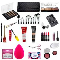 Kit Maquiagem Completa Base Mary Kay Ruby Rose + Brinde BZKT04-1 - Bazarnaweb